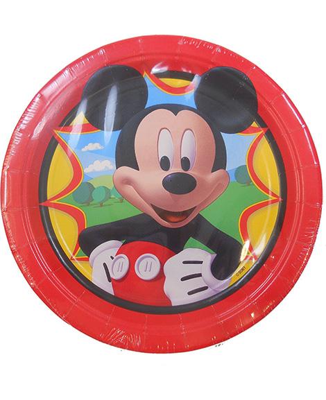 Mickey Amscan Round Dessert Plates