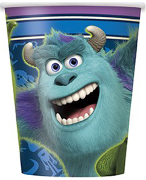 Monsters University Birthday Party 9 oz Paper Cups by Unique