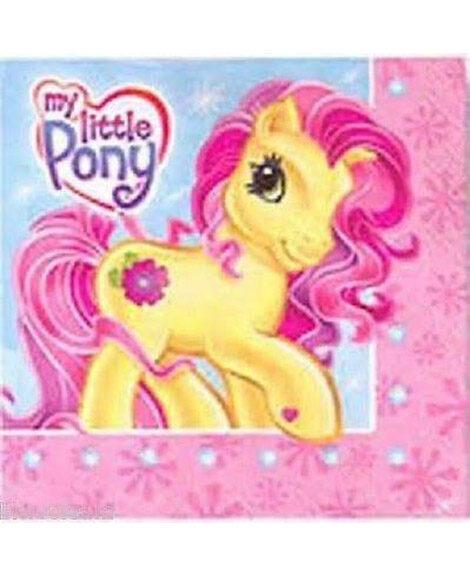 My Little Pony Party Beverage Napkins