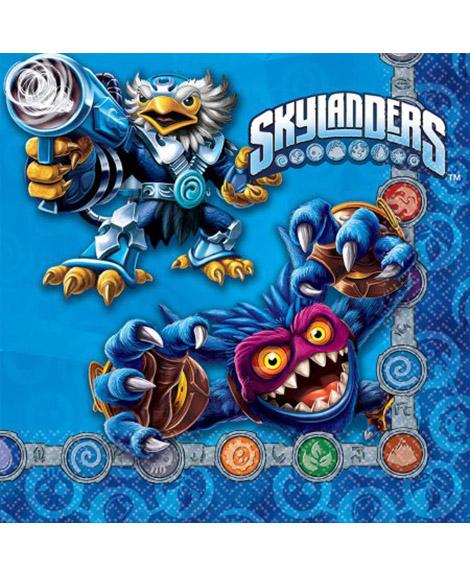 Skylanders Evergreen Lunch Napkins 16 Ct