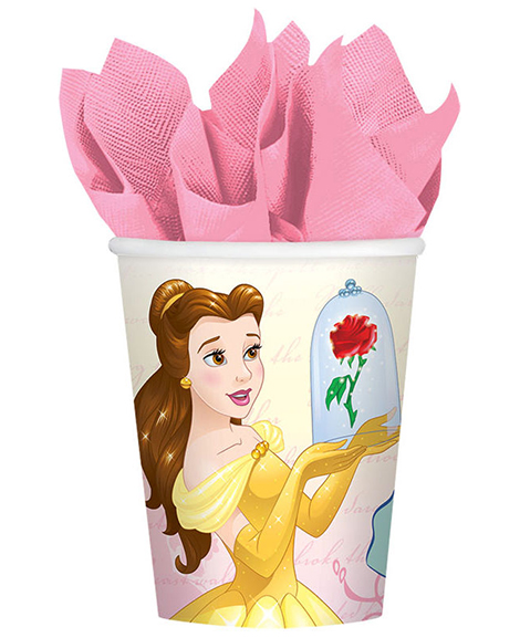 Beauty and The Beast Belle 9 oz Paper Cups
