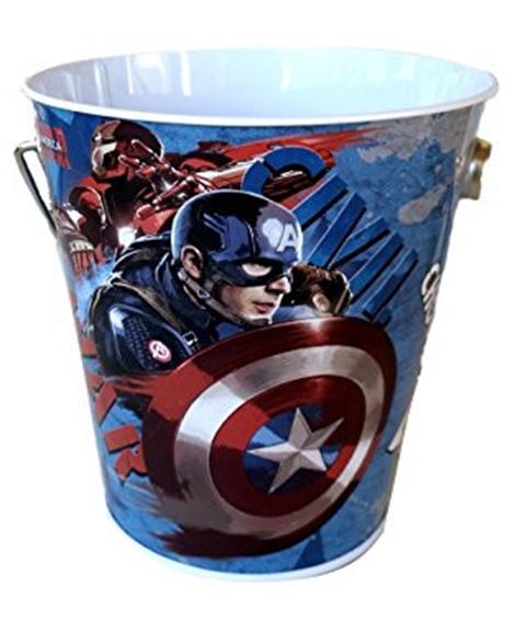 Captain America 3 Civil War Tin Party Pail