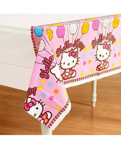 Hello Kitty Balloon Dreams Plastic Table Cover