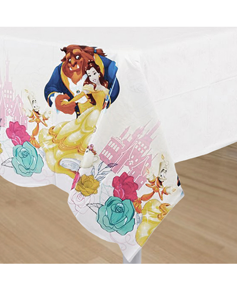 Beauty and The Beast Belle Plastic Table Cover