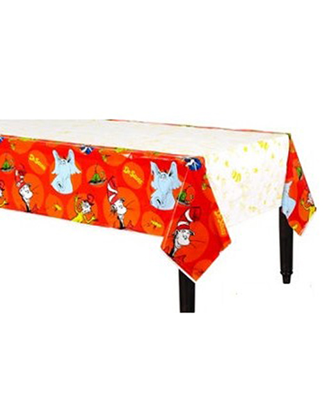 Dr Seuss Plastic Table Cover