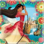 Elena of Avalor Square Lunch Plates
