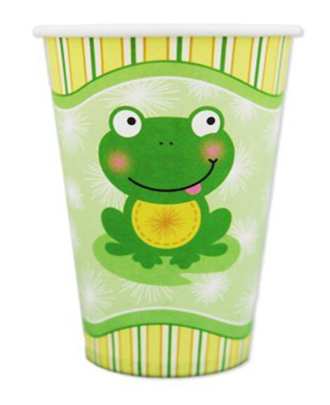 Froggy Frog 9 oz Paper Cups