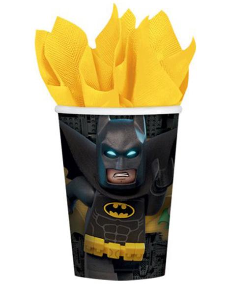 Lego Batman 9 oz Paper Cups