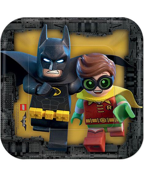 Lego Batman Dessert Plates