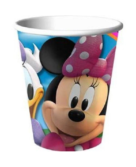 Minnie Clubhouse 9 oz Paper Cups