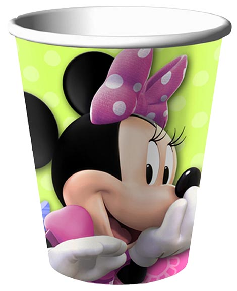 Minnie Bows 9 oz Paper Cups