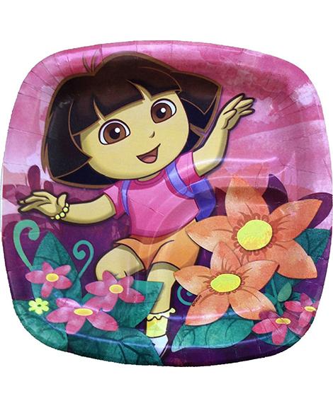 Dora Floral Pocket Dessert Plates