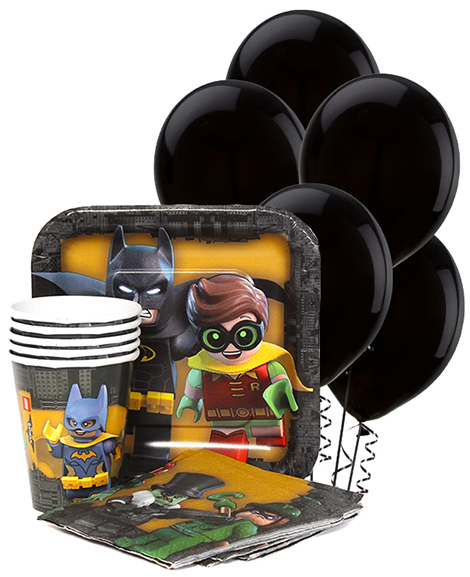 Lego Batman Party Package for 8 Guests at Party Quackers