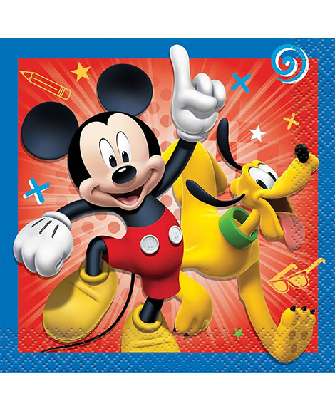 Mickey and The Roadster Racers Beverage Napkins