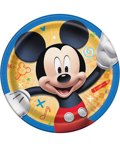 Mickey and The Roadster Racers Dessert Plates