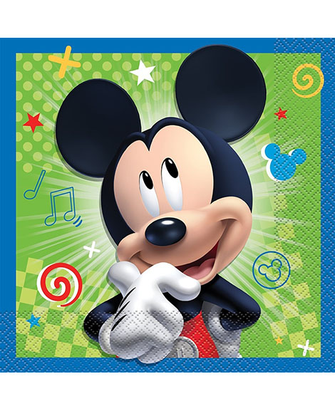 Mickey and The Roadster Racers Lunch Napkins