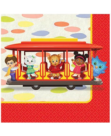 Daniel Tiger's Neighborhood Beverage Napkins