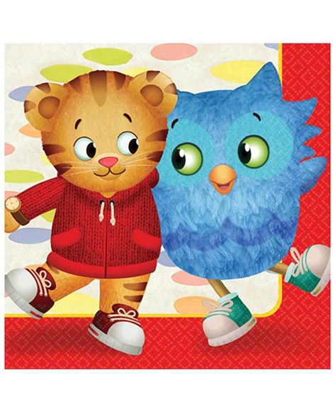 Daniel Tiger's Neighborhood Lunch Napkins