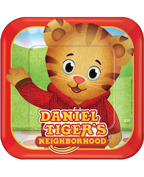 Daniel Tiger's Neighborhood Lunch Plates