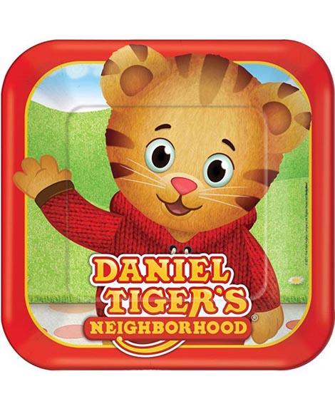 Daniel Tiger's Neighborhood Lunch Plates