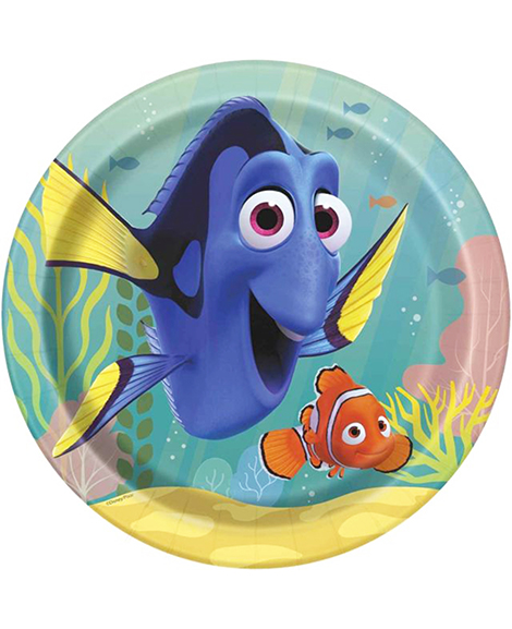 Finding Dory Lunch Plates By Unique