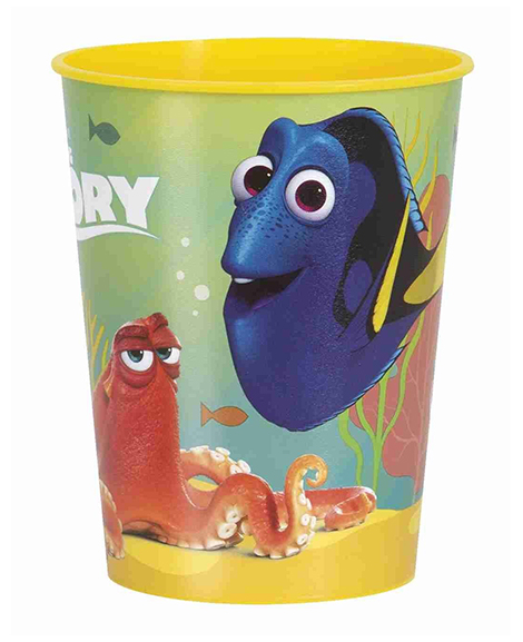 Finding Dory Yellow 16 oz Keepsake Favor Cup