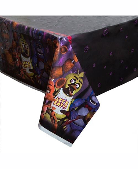 Five Nights at Freddy's Plastic Table Cover