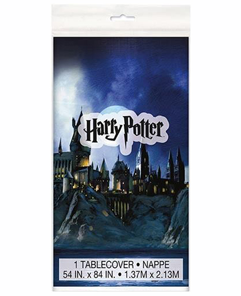 Harry Potter Plastic Table Cover