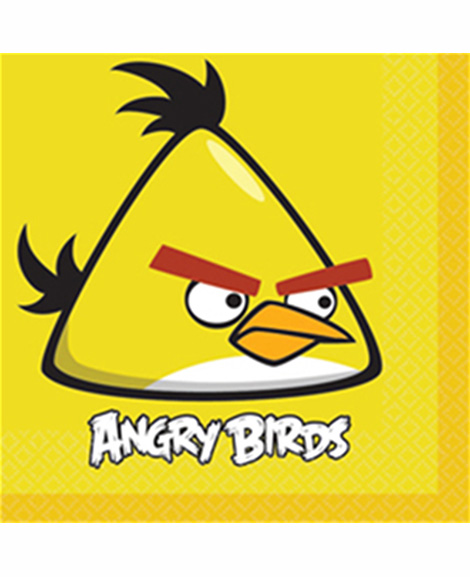 Angry Birds The Movie Lunch Napkins 16 Ct