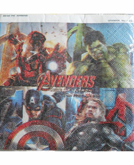 Avengers Age of Ultron Beverage Napkins