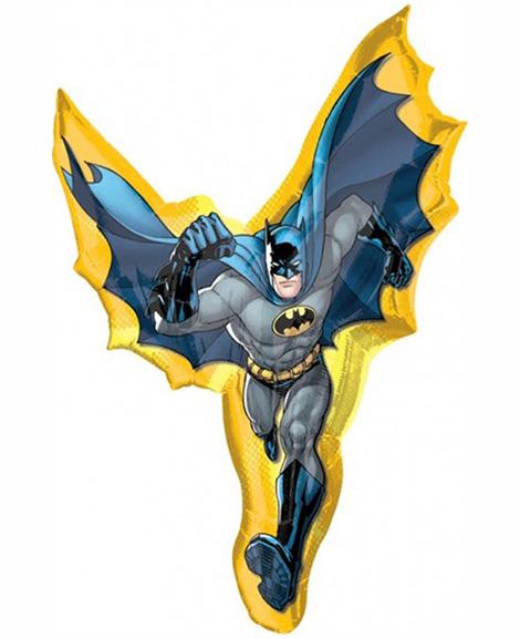 Batman Character Super Shaped 39 Inch Foil Mylar Balloon