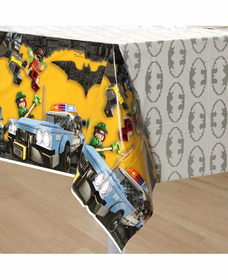 Lego Batman Plastic Table Cover