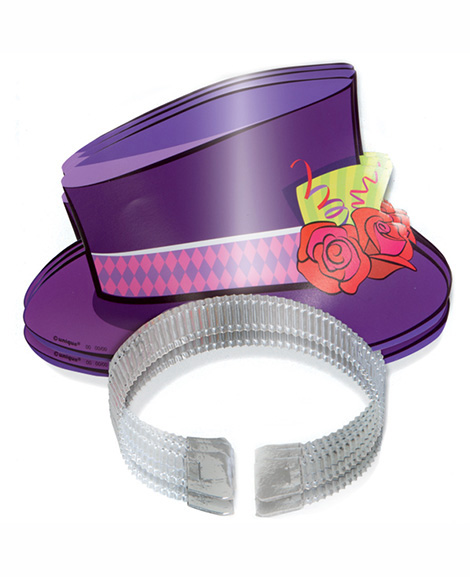 Mad Hatter Tea Party Top Hat Tiaras