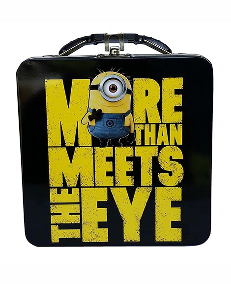 Despicable Me Minions More Than Meets The Eye Lunch Tin
