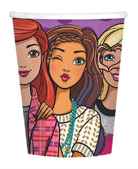 Barbie and Friends 9 oz Paper Cups
