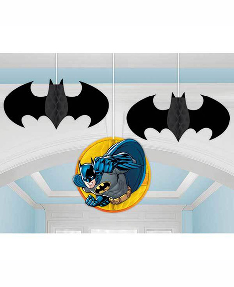 DC Batman Honeycomb Hanging Decorations