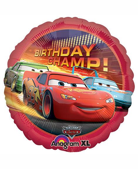 World of Cars Birthday Champ Foil 18 Inch Mylar Balloon