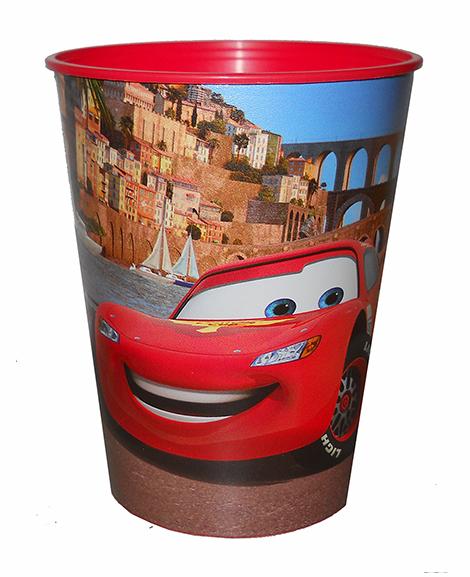 Disney Cars Stadium Keepsake 16 oz Cup