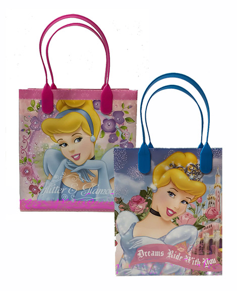 Cinderella Party Favor Plastic Gift Bags