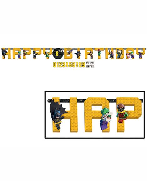 Lego Batman Add An Age Letter Jumbo Banner