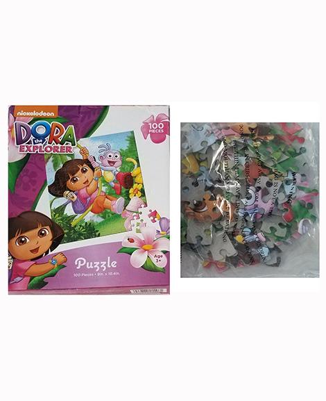 Dora The Explorer 100 Piece Puzzle