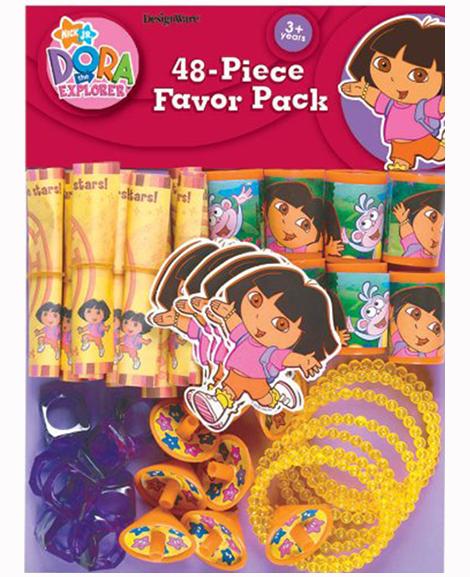 Dora Flower Adventure 48 Piece Party Favor Pack