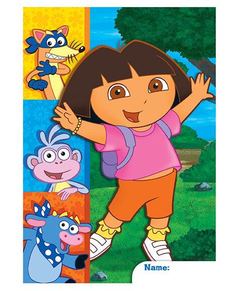 Dora the Explorer Party Favor Plastic Treat Bags