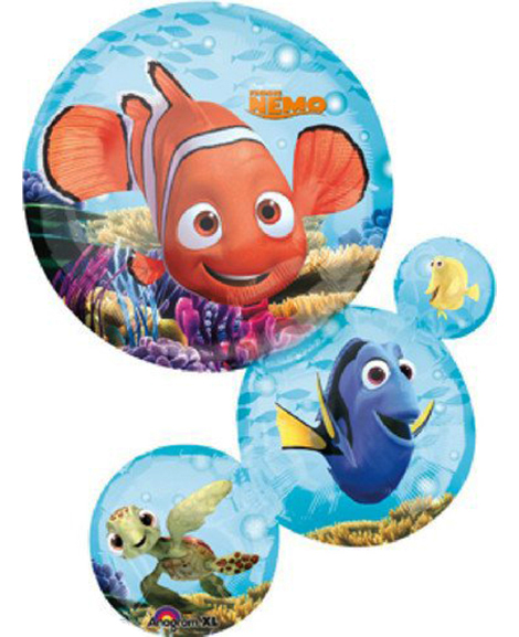Finding Nemo SuperShaped Bubble Cluster Mylar Balloon