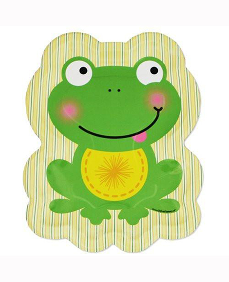 Froggy Frog Lunch Plates
