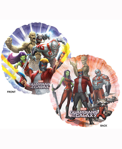 Guardians of The Galaxy Marvel 18 Inch Round Foil Mylar Balloon
