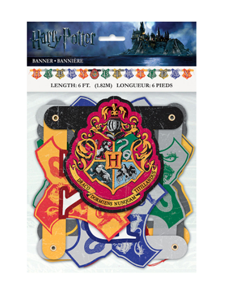 Harry Potter Happy Birthday 6 Foot Jointed Banner