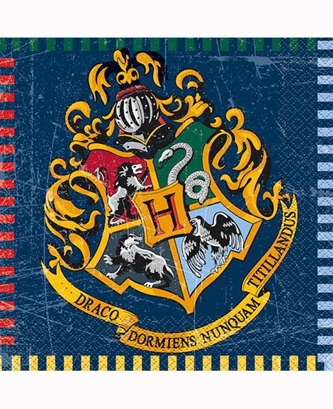 Harry Potter Hogwarts House Lunch Napkins