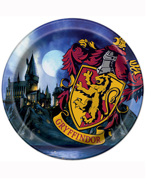 Harry Potter Gryffindor Lunch Plates
