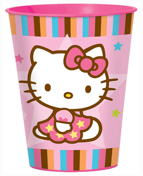 Hello Kitty Balloon Dreams 16 oz Keepsake Stadium Cup
